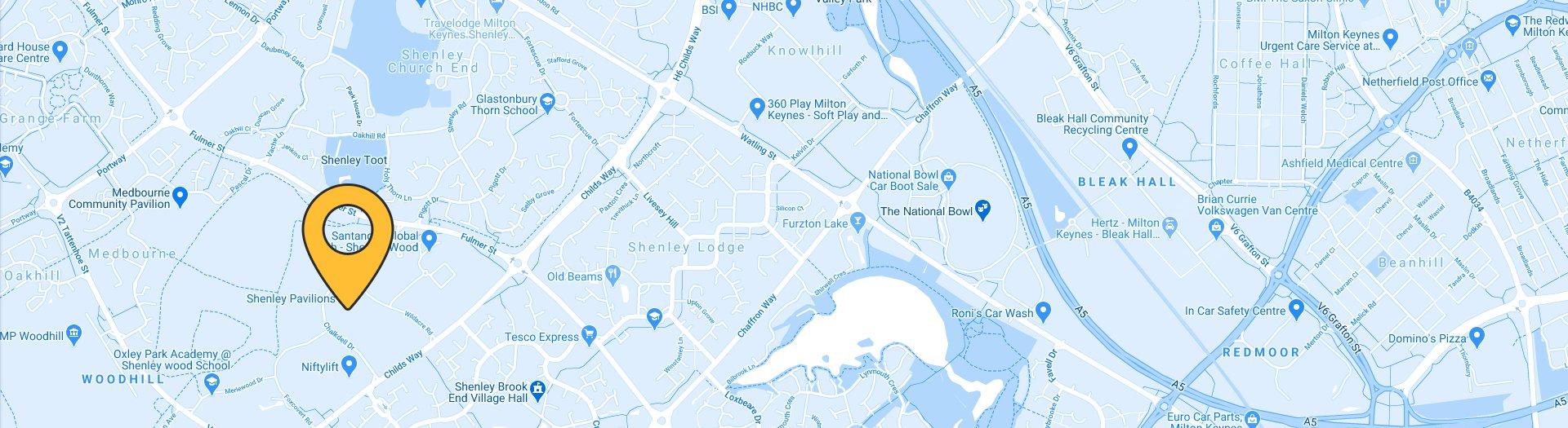 CRM Dynamics Ltd Map